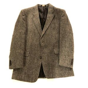 Jos A Bank Tweed Blazer